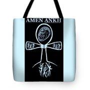 Amen Ankh Indigo Tote Bag