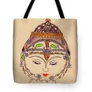 Amerat Goddess Of Flora Tote Bag