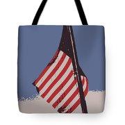 Amercan Flag Tote Bag