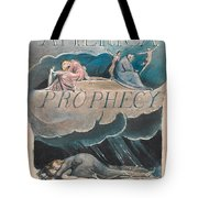 America. A Prophecy. Plate 2 Tote Bag