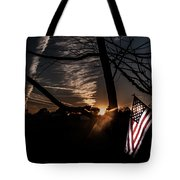 America  Tote Bag by Kim Loftis