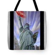 America On Alert II Tote Bag