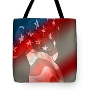 America Tote Bag by Tbone Oliver