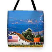 America The Beautiful Tote Bag
