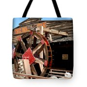 America Water Wheel Tote Bag by LeeAnn McLaneGoetz McLaneGoetzStudioLLCcom