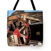 America Water Wheel Tote Bag