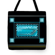 America Wave Tote Bag