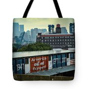 America Will Not Forget Tote Bag