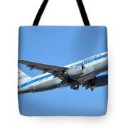 American Airbus A319-0112 N744p Retro Piedmont Pacemaker Phoenix Sky Harbor January 21 2016 Tote Bag