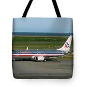 American Airlines 737-800 Tote Bag