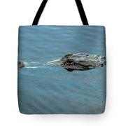 American Alligator Profile Tote Bag