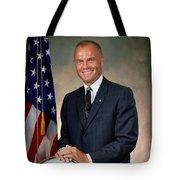 American Astonaut John Glenn Tote Bag