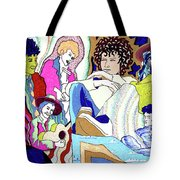 Jelly Roll Bob - Portraits Of Dylan Tote Bag