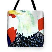 American Bald Eagle Painting #256 Tote Bag