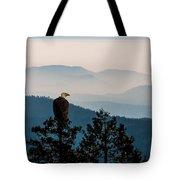 American Bald Eagle Sentinel Tote Bag