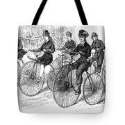 American Bicyclists, 1879 Tote Bag