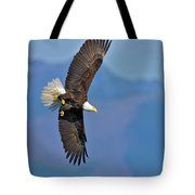 American Blad Eagle On The Wing Tote Bag