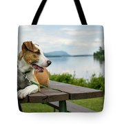 American Breed On Table Tote Bag