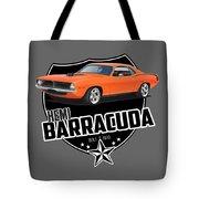 American 'cuda Tote Bag