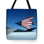 American Flag F 117 Nighthawks Tote Bag