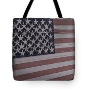 American Flag Shop Tote Bag