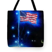 American Flag. The Star Spangled Banner Tote Bag