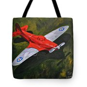 American Flyer Tote Bag