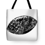American Football-black Tote Bag