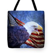 American Freedom  Tote Bag by Nicole Markmann Nelson