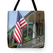 American French Quarter Tote Bag