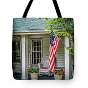 American Front Porch Tote Bag