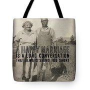 American Gothic Quote Tote Bag