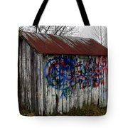 American Graffiti 4   Zig Zag Man Tote Bag