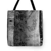American Graffiti 5  Tattoos For Trees Tote Bag