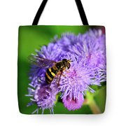 American Hoverfly Tote Bag