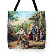 American Independence 1859 Tote Bag