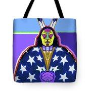 American Indian By Nixo Tote Bag