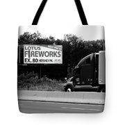 American Interstate - Pennsylvania I-80 Bw 2 Tote Bag