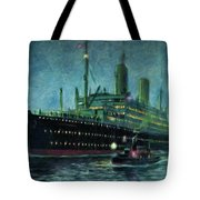 American Line, New York Tote Bag