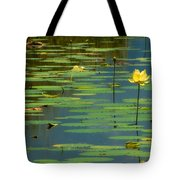 American Lotus Tote Bag