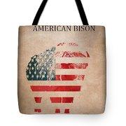 American Mammal The Bison Tote Bag
