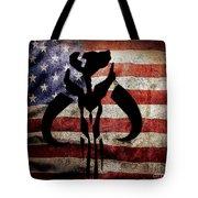 American Mandalorian Tote Bag
