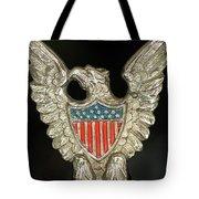 American Metal Eagle Tote Bag