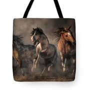 American Paint Horses Tote Bag