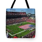 American Pride Bucs Style Tote Bag by David Lee Thompson