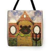 American Pug Gothic Tote Bag