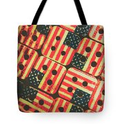 American Quilting Background Tote Bag