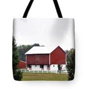 American Red Barn II Indiana Tote Bag
