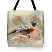American Robin - Watercolor Art Tote Bag