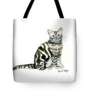 American Short Hair Cat Tote Bag
